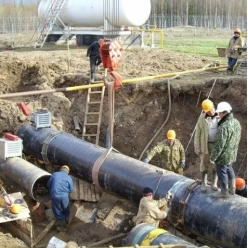 Демонтаж технологического трубопровода