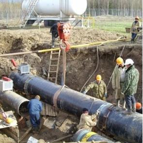 Демонтаж технологического трубопровода>