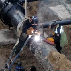 Реконструкция технологических трубопроводов
