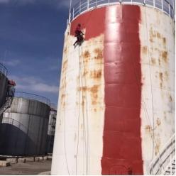 Покраска емкостей и резервуаров для нефтепродуктов