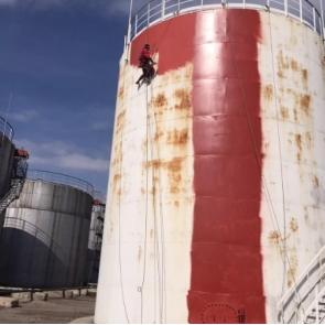 Покраска емкостей и резервуаров для нефтепродуктов>