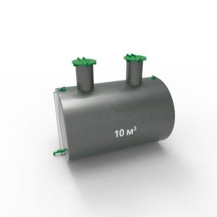 Емкость подземная стальная с подогревом ЕПП 10 кубов