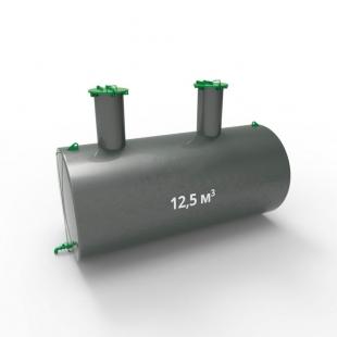 Емкость подземная стальная с подогревом ЕПП 12,5 кубов