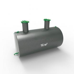 Емкость подземная стальная с подогревом ЕПП 16 кубов