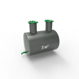 Емкость подземная стальная ЕП 3 куба