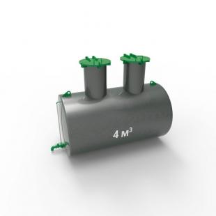 Емкость подземная стальная ЕП 4 куба