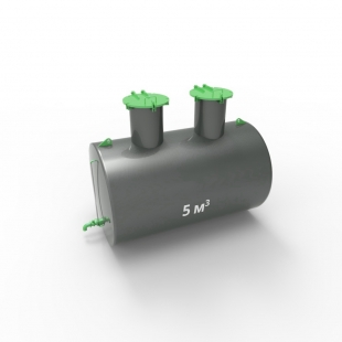 Емкость подземная стальная ЕП 5 кубов