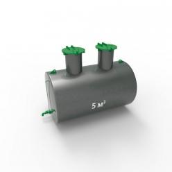 Емкость подземная стальная с подогревом ЕПП 5 кубов