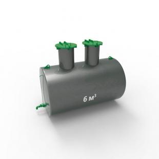 Емкость подземная стальная ЕП 6 кубов