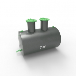 Емкость подземная стальная ЕП 7 кубов