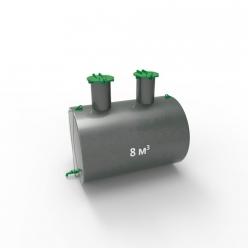 Емкость подземная стальная ЕП 8 кубов
