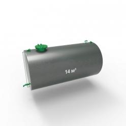 Резервуар (емкость) горизонтальный стальной РГС (РГСН) 14 кубов