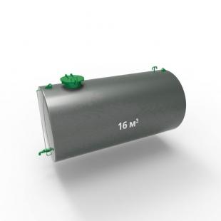 Резервуар (емкость) горизонтальный стальной РГС (РГСН) 16 кубов