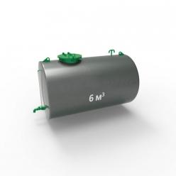 Резервуар (емкость) горизонтальный стальной РГС (РГСН) 6 кубов