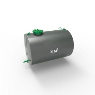 Резервуар (емкость) горизонтальный стальной РГС (РГСН) 8 кубов