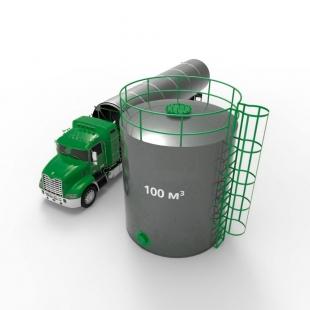 Резервуар (емкость) вертикальный стальной РВС 100 кубов