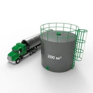 Резервуар (емкость) вертикальный стальной РВС 200 кубов