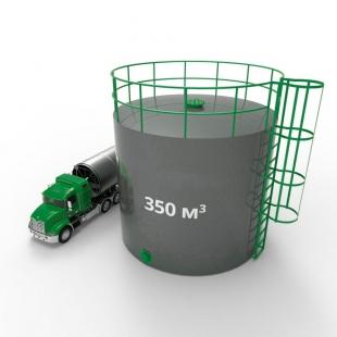 Резервуар (емкость) вертикальный стальной РВС 350 кубов