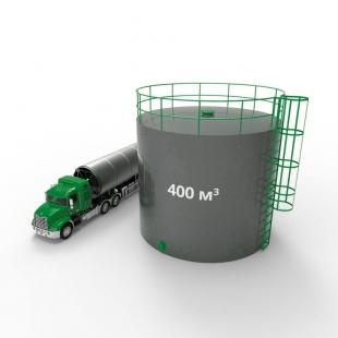 Резервуар (емкость) вертикальный стальной РВС 400 кубов