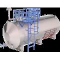 Горизонтальный стальной резервуар (емкость) РГС
